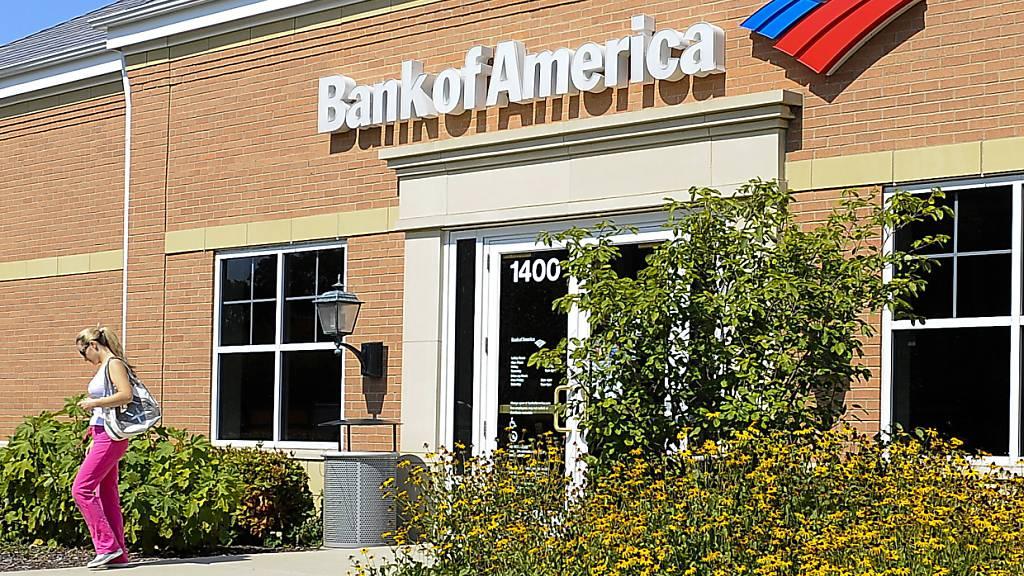Analysten hatten von der zweitgrössten US-Bank schlechtere Zahlen erwartet. (Archivbild)