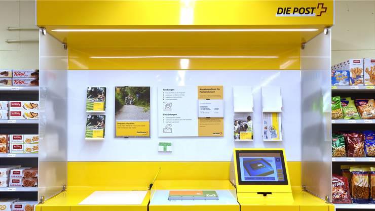In den Fahrwanger Nachbargemeinden Sarmenstorf und Meisterschwanden gibt es eine Postagentur im Volg-Laden. Symbolbild/BKO