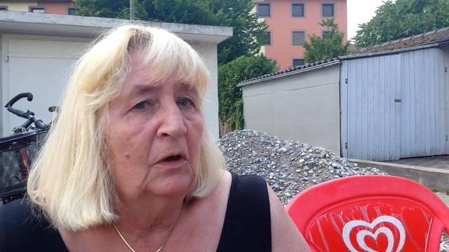 Aus der Wohnung evakuiert: Anwohnerin Agnes Broger (68) erzählt.