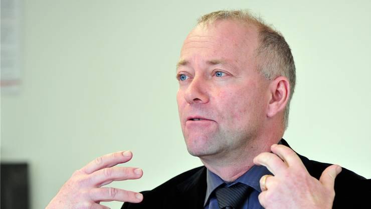 Martin Wey gibt sein Amt 2021 ab und will sich danach beruflich neu orientieren.