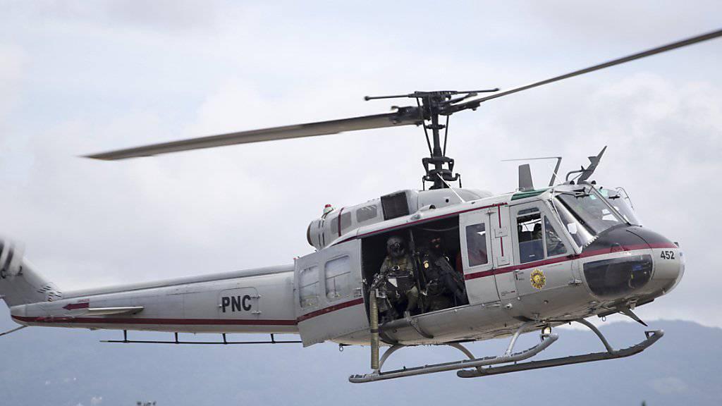 Mit dem Helikopter in Sicherheit: deutsche Touristin in Guatemala gerettet (Symbolbild)