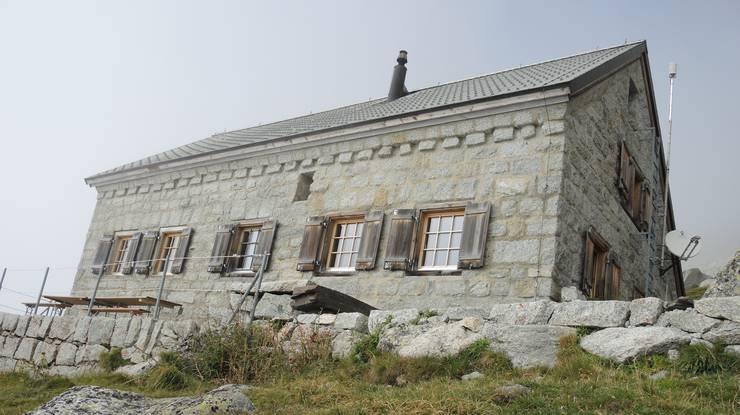 Die Gelmerhütte des SAC Brugg ist seit 1926 in Betrieb.