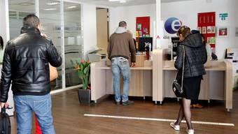 Über 10 Prozent der Erwerbstätigen in Frankreich sind arbeitslos. Im Bild eine Arbeitsvermittlungsstelle in Marseille. KEY