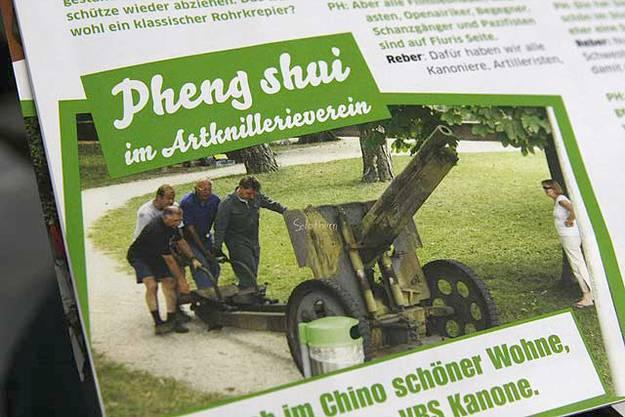 «Postheiri»: Böllerschuss gegen die Artilleristen