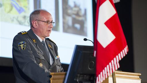 Der Oberfeldarzt Andreas Stettbacher.