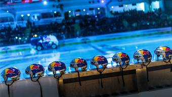 Im Zeichen des roten Bullen: Die Eisarena ist die Heimat des EC Red Bull Salzburg.