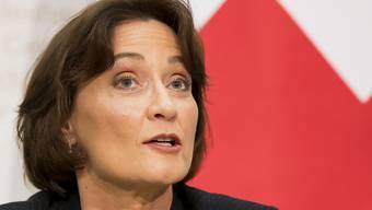 Pascale Baeriswyl wechselt von Bern nach New York: Die heutige Staatssekretärin im Aussendepartement wird Chefin der Ständigen Mission der Schweiz bei der UNO. (Archivbild)