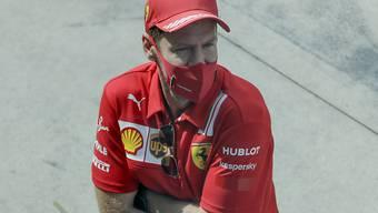 Sebastian Vettel hat endlich ein neues Cockpit gefunden