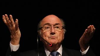 Fifa-Präsident Sepp Blatter mag offensichtlich europäischen Fussball nicht.