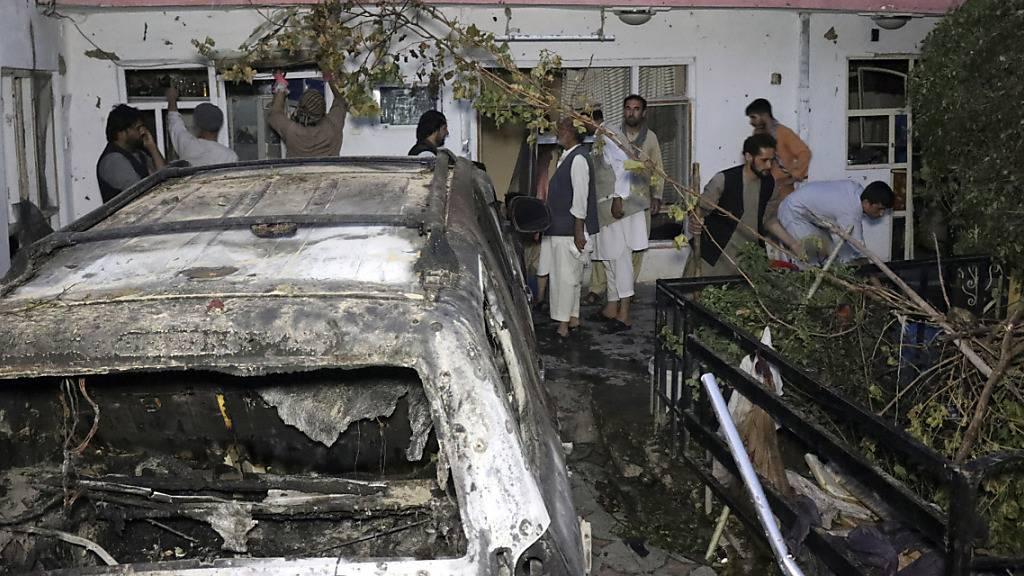 Entschädigungsforderungen aus Afghanistan nach US-Eingeständnis
