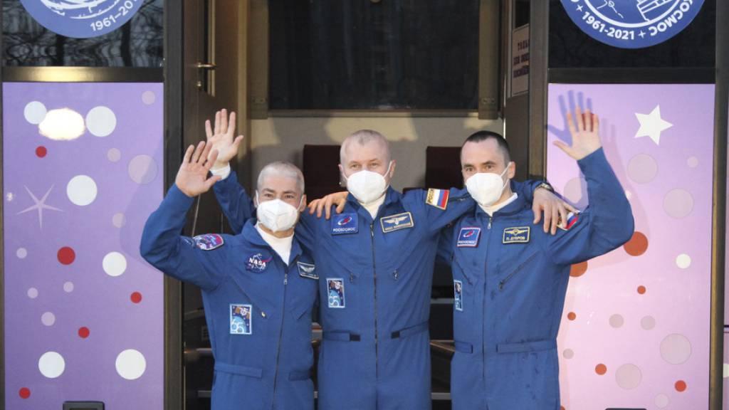 Expressflug gestartet: In dreieinhalb Stunden zur ISS