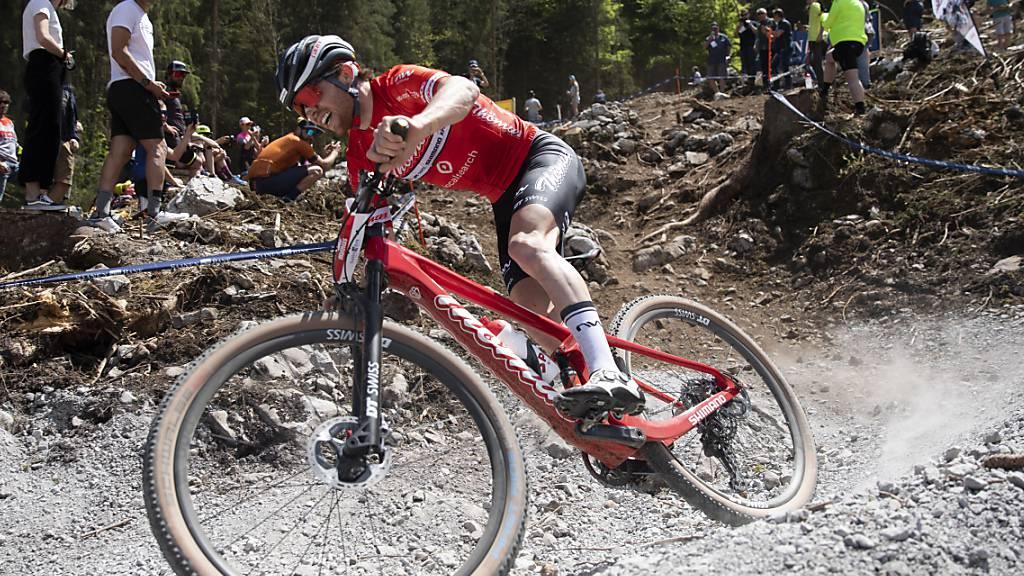 Mathias Flückiger heissestes Schweizer Eisen bei den Mountainbikern