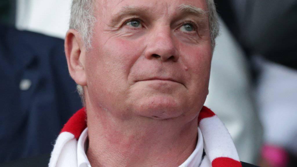 Uli Hoeness kehrt heute an die Spitze des FC Bayern München zurück