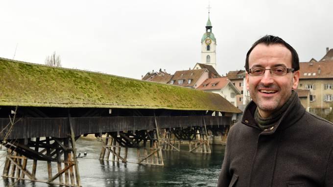 Der 41-jährige Stefan Ulrich ist seit 2014 Geschäftsführer bei Region Olten Tourismus.