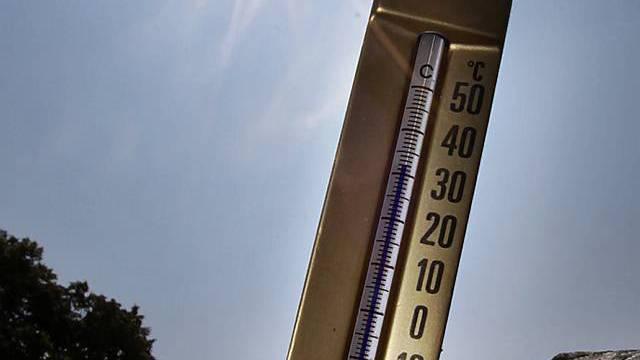 Der Föhn sorgt für hohe Temperaturen