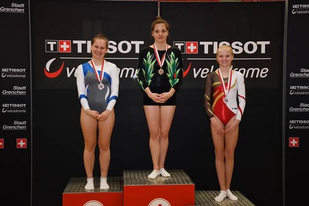 National A Damen Jasmine Gansner 2. Platz