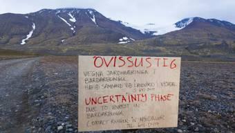 Die Zufahrtswege zum Vulkan Bárdarbunga sind gesperrt
