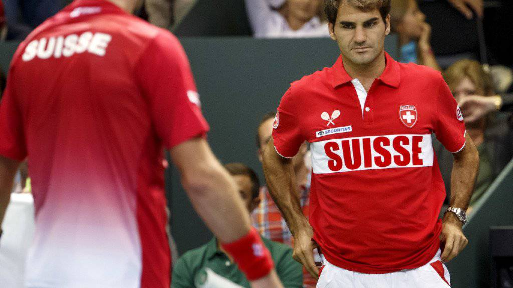 Federer und Wawrinka fehlen wie erwartet im Schweizer Davis-Cup-Kader