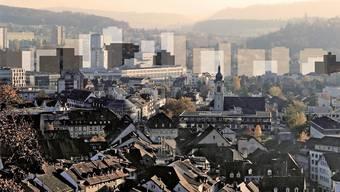 Das Hochhauskonzept – hier eine unverbindliche Illustration des Konzeptansatzes – ist im Einwohnerrat Windisch zurückgewiesen worden im vergangenen Jahr.