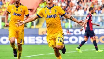 Paulo Dybala präsentiert sich schon früh in guter Form und reihte sich erneut unter den Torschützen ein