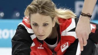 Erstmal mit positiver Bilanz an der WM – das Schweizer Curling-Team um Tirinzoni