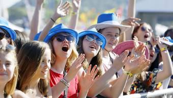 Veranstaltungen mit mehr als 1000 Personen, wie das Argovia Fäscht, sind bis Ende August verboten.
