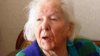 «Bammert's Trudi», die 100jährige Gertrud Häfeli erzählt im neuen Guldentaler Geschichte-Buch aus ihrem Leben.