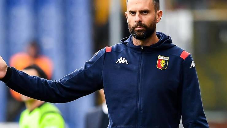 Thiago Motta war nur zwei Monate Trainer von Genoa