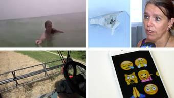 Ein Blitz kann durch Wände schlagen und ein Selfie-Stick Leben retten – hätten Sies gewusst?