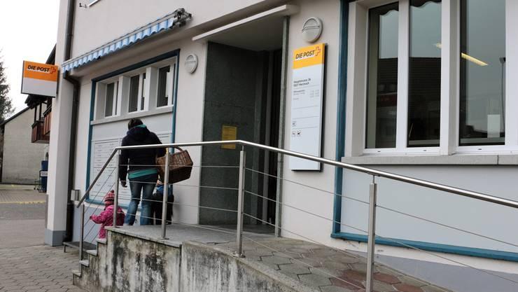 In Herznach gibt es Widerstand gegen die Schliessung der Post. dka