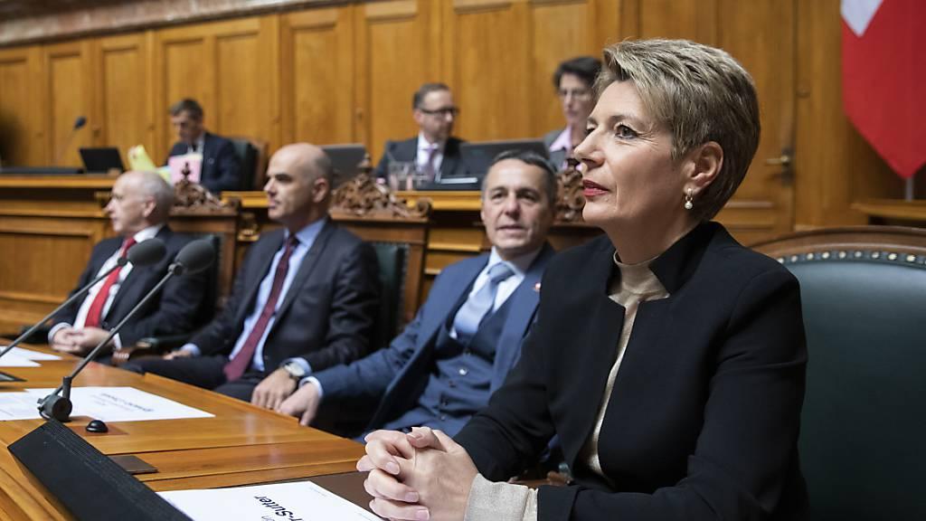 Keller-Sutter erwartet keine Rochaden in der Regierung