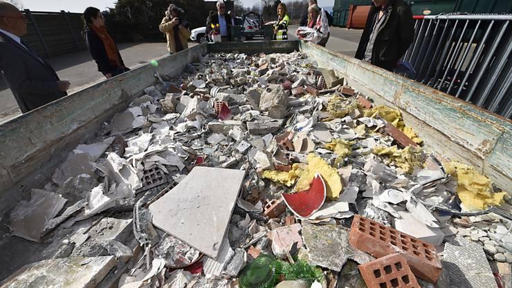 Bei Sanierungsarbeiten im Thurgauer Kulturgüter-Depot in Frauenfeld wurde Anfang 2018 Asbest gefunden. Als Folge davon müssen über 30'000 Objekte durch Spezialisten gereinigt werden (Archivbild)