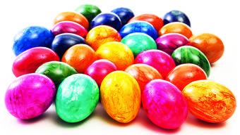 Früher wurden die Eier bemalt, die der Pfarrer gesegnet hatte.
