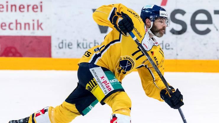 Schussstark: Philipp Rytz in der vergangenen Saison im SCL-Dress.