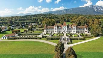 Beim Schloss Waldegg gibt es Platz für die Authentica.