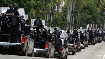 Mega-Kopfgeld: Die Behörden weiten die Suche nach einem mexikanischen Drogenbaron aus. (Archivbild)