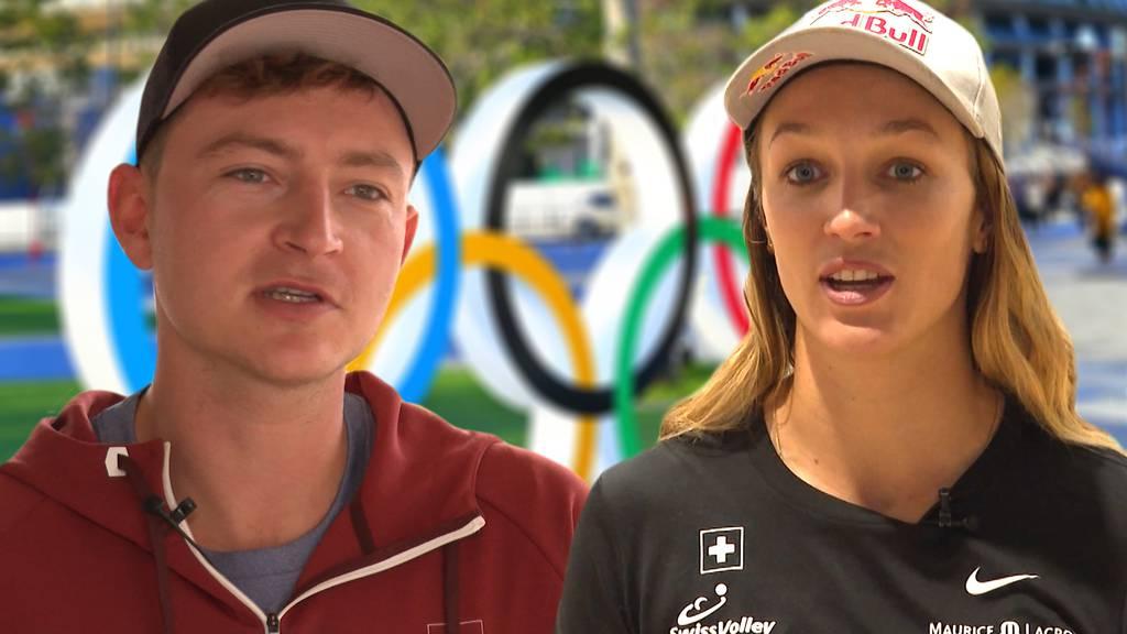 Olympische Spiele in Tokio: Anouk Vergé-Dépré und Mirco Gerson schlagen die Bälle für Bern