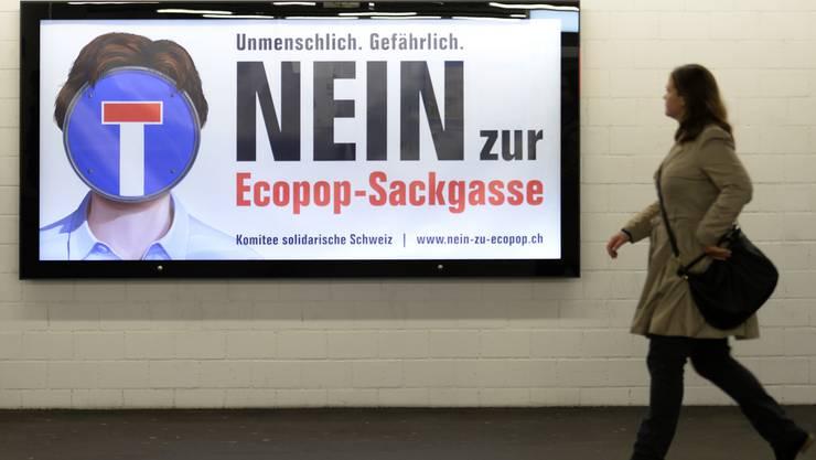 Ecopop und die Mitteparteien EVP, BDP und GLP gehen eine Listenverbindungen ein