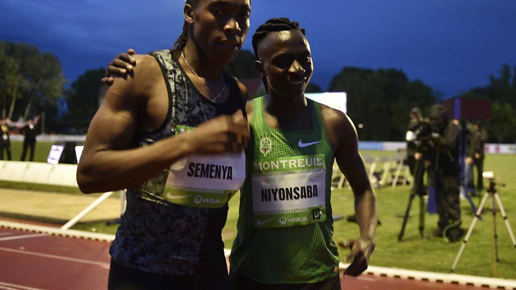 Caster Semenya (links) erringt einen weiteren juristischen Sieg
