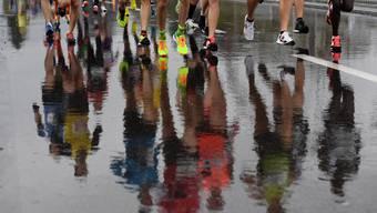 Der Zürich Marathon hatte kein Wetter-Glück.