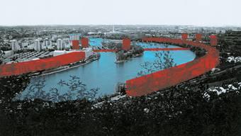 Bereits zu Beginn der 90er-Jahre machten sich die Architekten Gedanken zur Zukunft des Stadtrands.