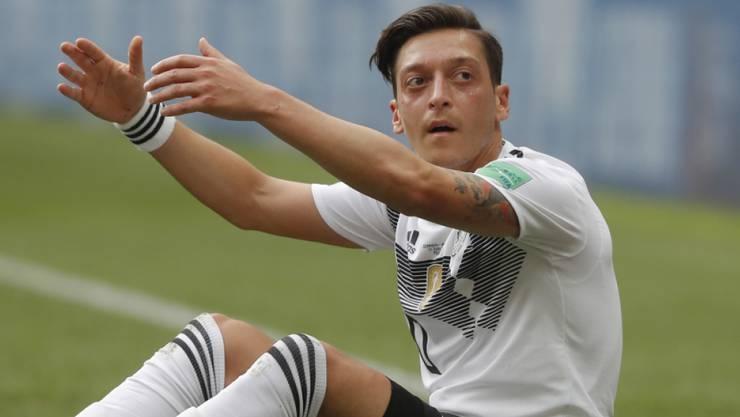 Mesut Özil verabschiedet sich aus dem deutschen Nationalteam.