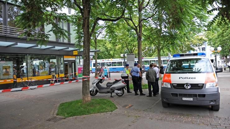 Der 17-Jähriger wurde in Schwamendingen niedergestochen (Archiv)
