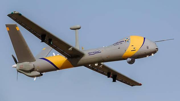 Drohne des Typs Hermes 900 den die Schweiz kauft.