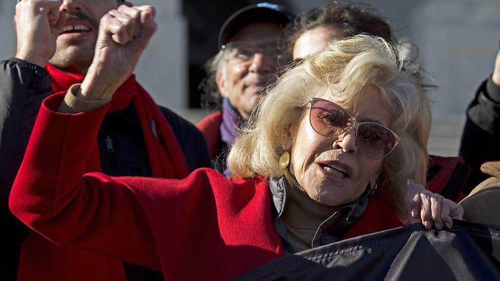 Will mit einer Show im Internet ein Theater unterstützen: US-Schauspielerin und Aktivistin Jane Fonda. (Archivbild)