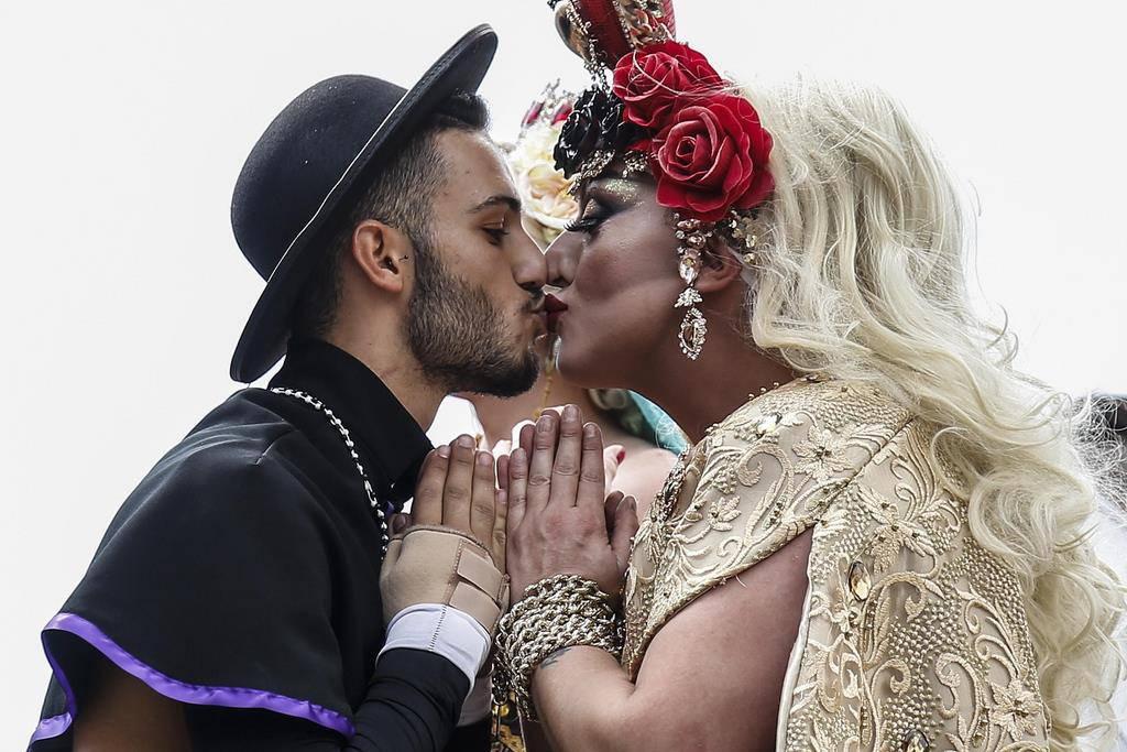 LGBT Pride Rom (© Keystone)