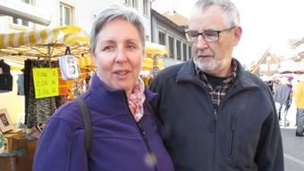«Es ist schön – aber auch schlimm»: Martha Liechti aus Wittnau über die zwei Seiten des schönen Novemberwetters.