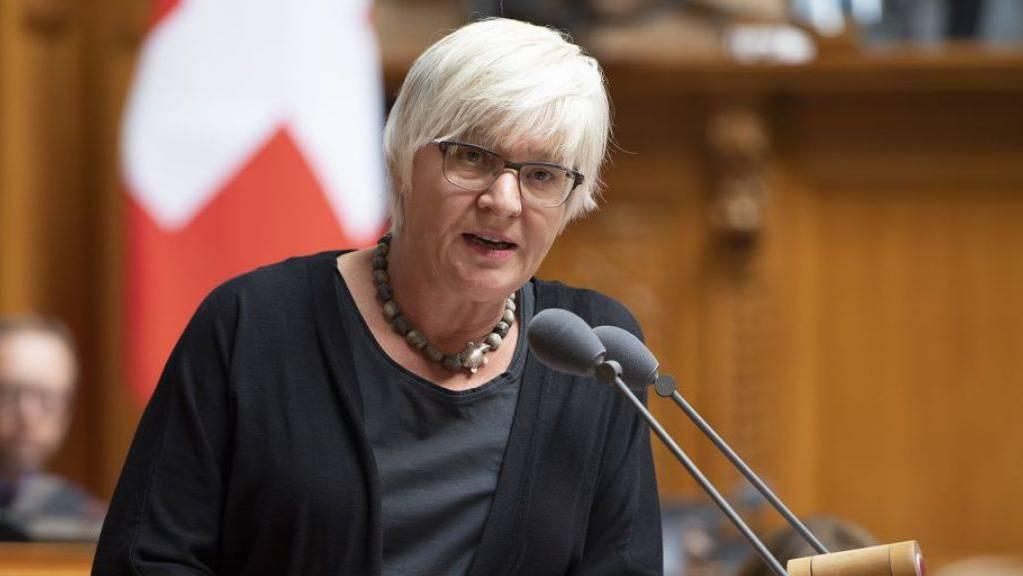 Parlamentarier, die durch ihre Abwahl finanziell in Not geraten, können ein Gesuch um Überbrückungshilfe stellen. Die abgewählte Rosmarie Quadranti (BDP ZH) will dies nicht beanspruchen - «und wenn doch, würde ich es nicht sagen». (Archivbild)