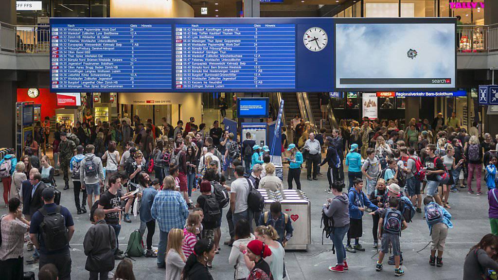 Die Zuwanderung in die Schweiz nimmt weiter ab. (Symbolbild)
