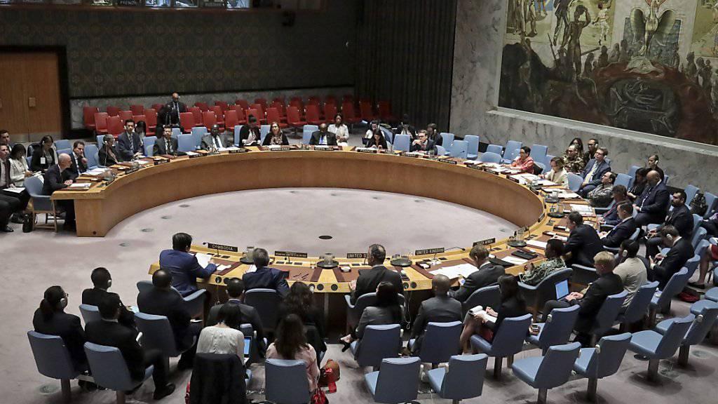 Der Uno-Sicherheitsrat hat am Dienstag zur Krise im Sudan getagt. (Archivbild)